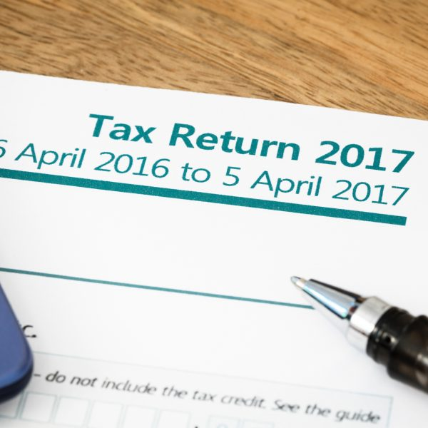 image of the 2016/17 Tax Return