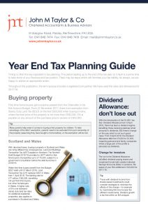 Image of first page of Year end Tax Planning Tips