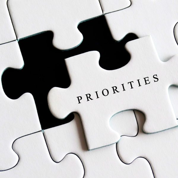 Changing Priorities Graphic